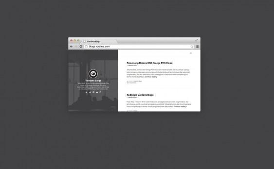Redesign Weblog 6.0